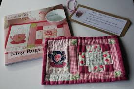 Quilted Mug Rug Pattern Handmade Holidays And Mug Rug Book Review Avery Lane Sewing