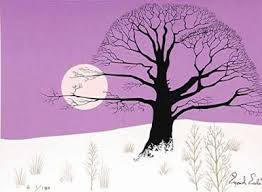 eyvind earle christmas cards limited edition prints eyvind earle setting sun walnut st