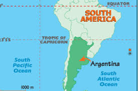 Equator Map South America by 7 Awesome Things About Argentina