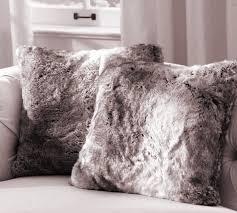 Faux Fur Throw Pillow Luxefauxfur U2014 Home