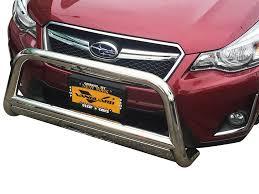 subaru crosstrek light bar 13 17 subaru crosstrek front bull bar with pl bumper protector