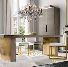 gage rectangular dining table