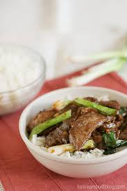 beef of the month cookbook of the month recipe mongolian beef taste and tell