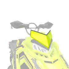 low windshield lime squeeze polaris snowmobiles