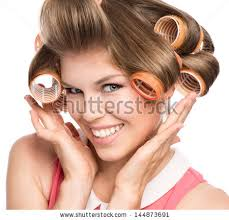 vintage hair rollers stock images royalty free images u0026 vectors