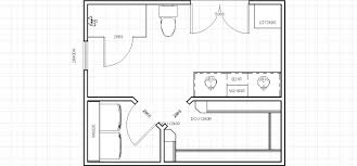 Walk In Closet Floor Plans by Average Master Bathroom Size