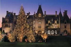 Biltmore Dining Room by Christmas At Biltmore