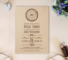 rustic bridal shower invitations bridal shower invitations lemonwedding