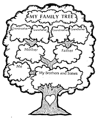family tree includes a nice list of picture books about family