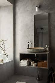 best 25 grey bathrooms designs ideas on pinterest bathrooms a beautiful concrete grey bathroom stilinspiration