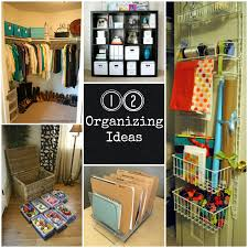 12 organizing ideas fun home things