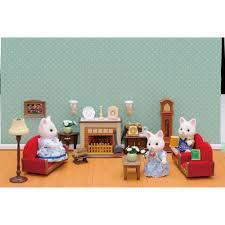 Sylvanian Families Luxury Living Room Set  Hamleys For - Sylvanian families luxury living room set