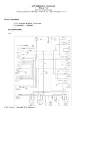 passat b5 wiring diagram documents