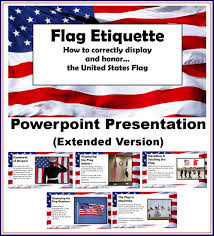 Displaying The Us Flag Chsh Teach American Government Teaching Resources And Curriculum