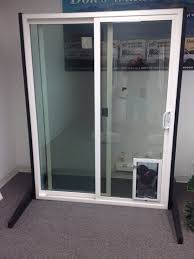 Patio Door With Pet Door Built In Patio Doors Albuquerque Nm Door Company