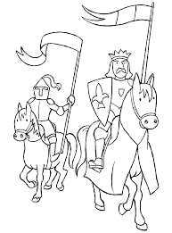 knight coloring pages getcoloringpages com