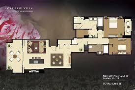 villa floor plans floorplans beach villas vacation rentals ko olina kapolei