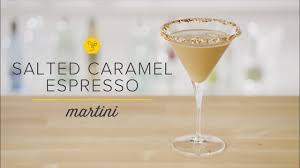 chocolate caramel martini salted caramel espresso martini youtube