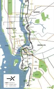 New York Rail Map by 1 7b Light Rail Connecting The Brooklyn Queens Waterfront