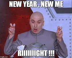 New Year New Me Meme - dr evil laser meme imgflip