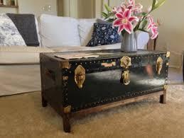 trunk coffee table diy trunk coffee table diy home design ideas