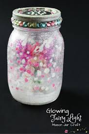 fairy mason jar craft sugar spice and glitter