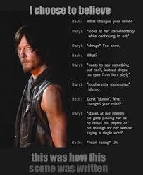Walking Dead Meme Daryl - norman reedus emily kinney twd daryl dixon beth greene gc still