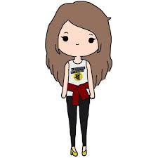 imagenes kawai de chicas dibujo de chica kawai hidalgo pinterest chicas kawai dibujo