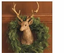 deer heads in decor
