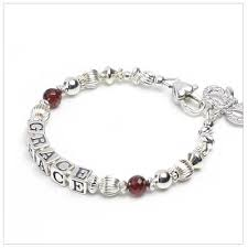 personalized name bracelets timeless baby name bracelets for with genuine birthstones