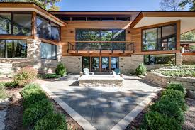 blending styles and materials in a luxury custom built home