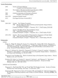 Best Resume Harvard Business by Douglas J Wagenaar Ph D Resume Home Page