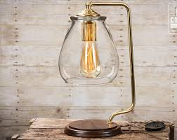 Edison Table Lamp Etsy Your Place To Buy And Sell All Things Handmade