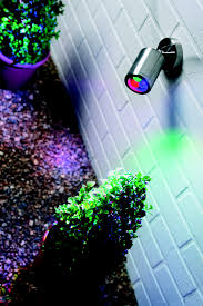 color changing outdoor lights stylish standalone outdoor led colour changing garden wall light