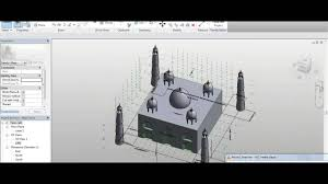 replica of the taj mahal on revit 2015 youtube