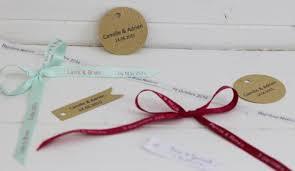etiquettes mariage étiquette personnalisé et ruban imprimé mariage les p tites fées