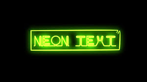 neon light font generator simple easy neon text tutorial after effects youtube