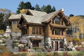 Luxury Log Home Plans Rustic Houses Design Ideas Draumur Pinterest House