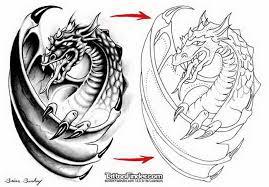 dragon tattoo design stencil brian burkey 5441017 top tattoos ideas