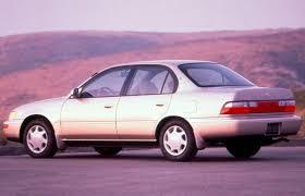 toyota corolla sedan 1993 then and now the compact sedan motor trend