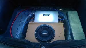 how to make a fiberglass subwoofer box 19 steps with pictures custom invisible subwoofer enclosure for your spare wheel recess
