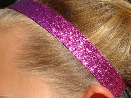 glitter headbands pigtails and sparkles custom glitter headbands
