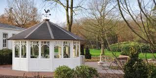 Wohnzimmerm El Ums Eck Der Sechseckige Gartenpavillon Mit Ecken Und Kanten