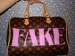 how to spot a real designer bag from a fake flea market