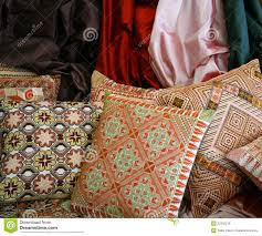 arab embroidered pillows royalty free stock images image 22592299