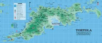 map of the bvi tortola map tortola islands