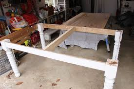 how to build a table base how to build a table
