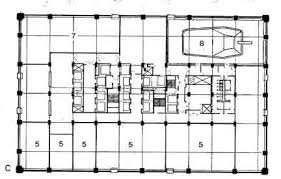 skyscraper floor plans housing prototypes john hancock center