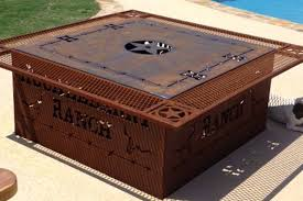 Steel Firepits Pit Best Ideas Metal Firepits Thin Strong Coverlarge
