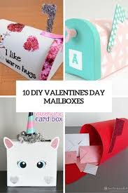 10 cute diy valentine u0027s day mailboxes for kids shelterness
